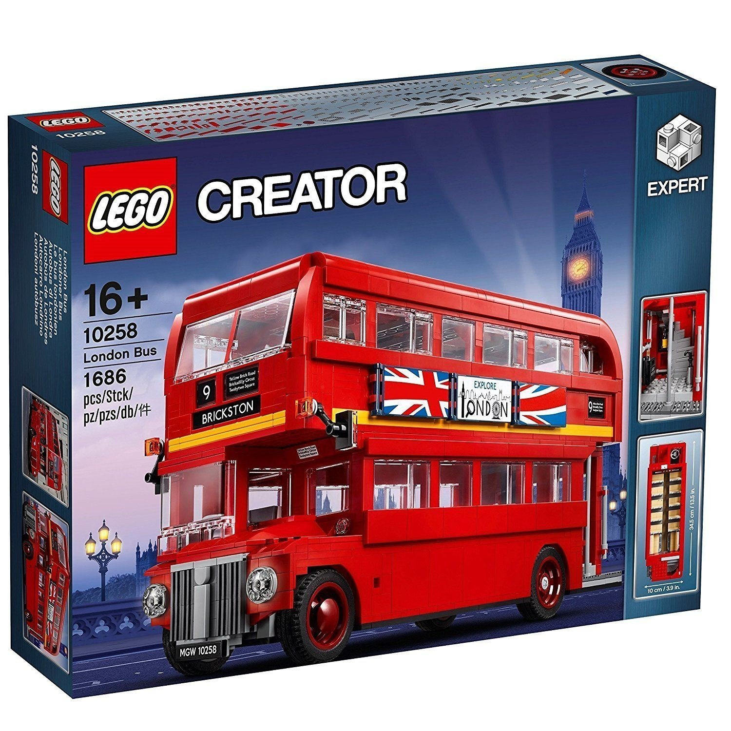 10258 LEGO® Creator Expert, London Bus