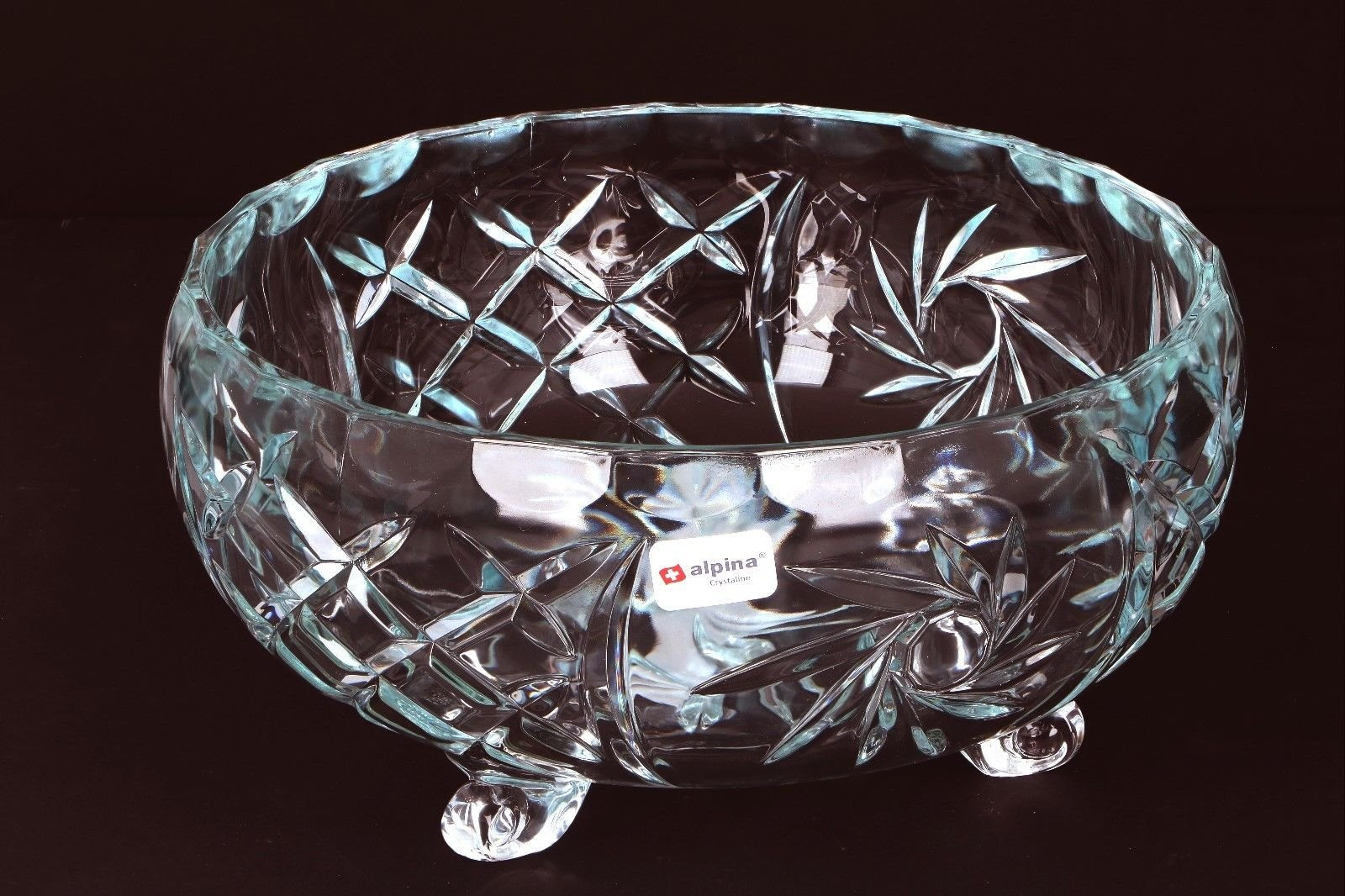 Alpina porcelianinio stiklo serviravimo indas