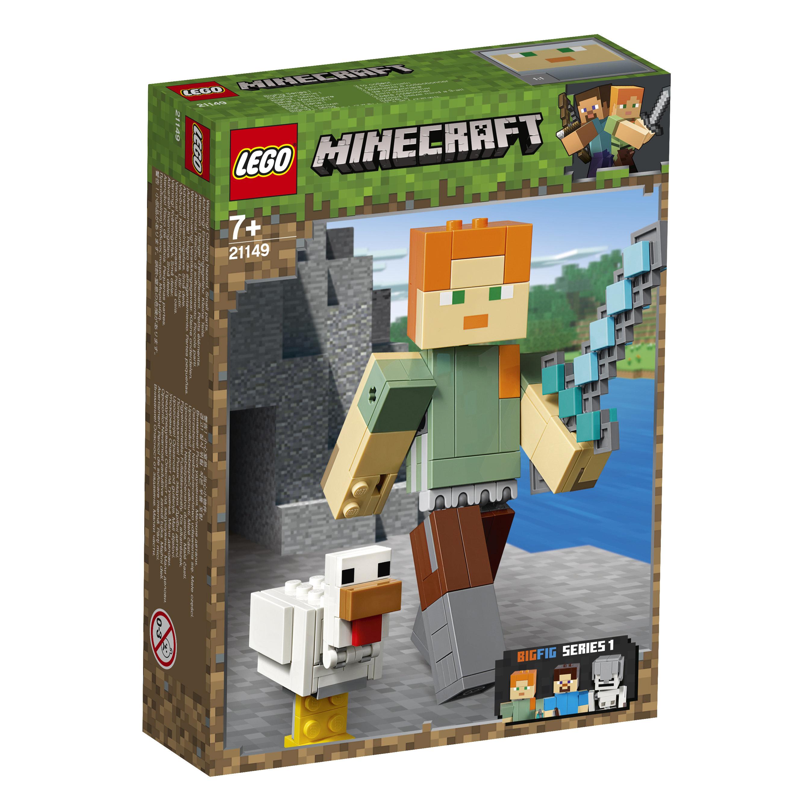 21149 LEGO® MINECRAFT BigFig Aleks su viščiuku