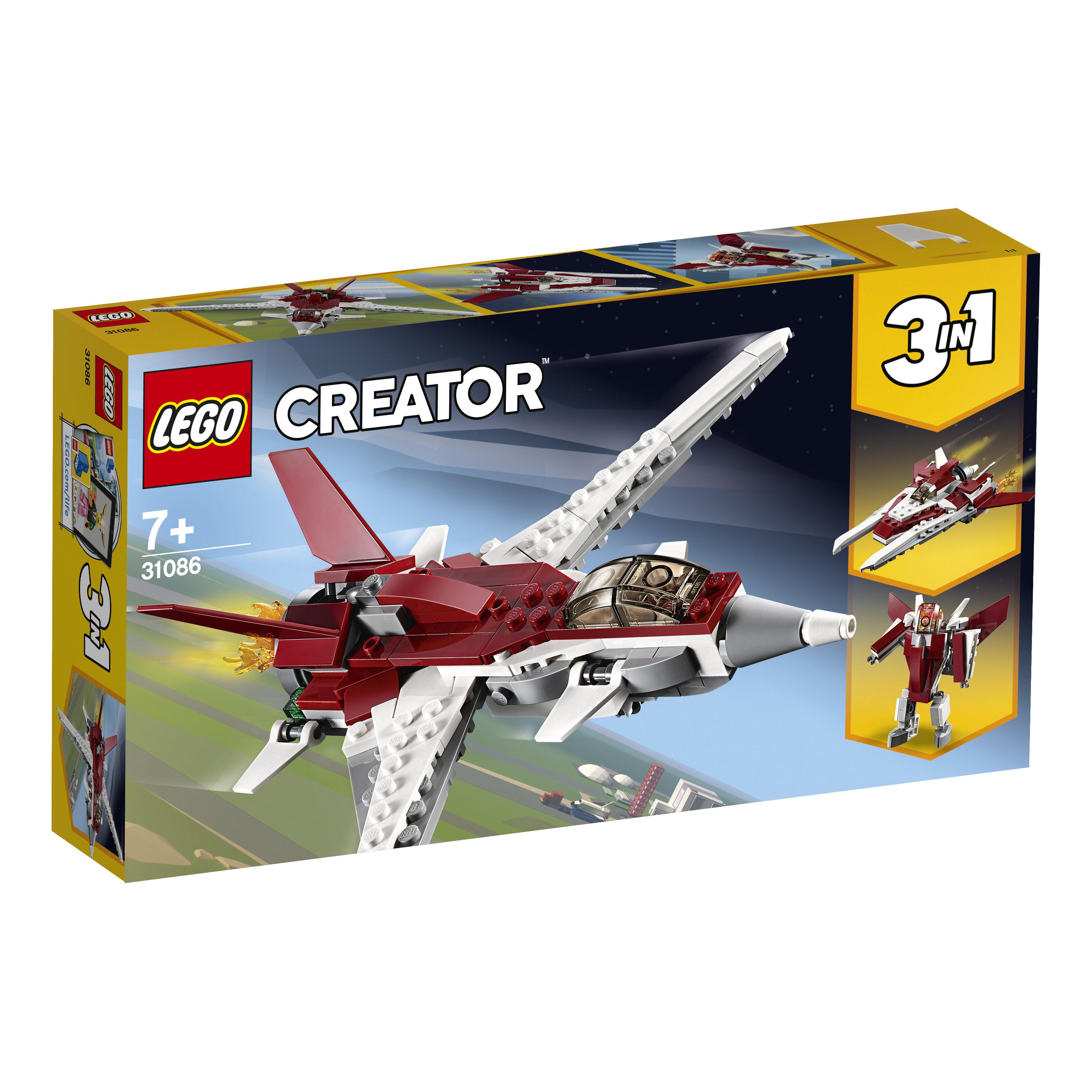 31086 LEGO® CREATOR Futuristinė skraidyklė