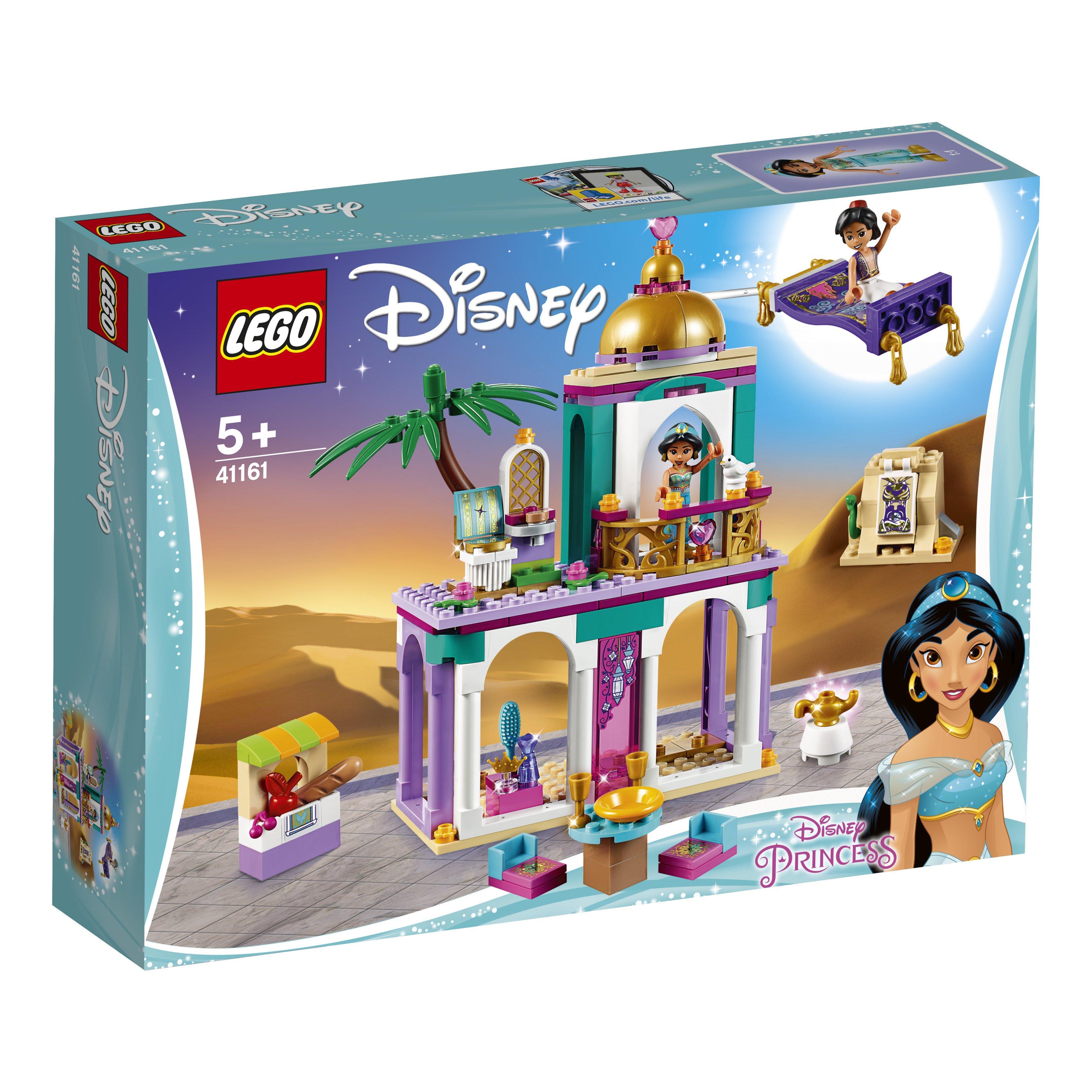 41161 LEGO® DISNEY PRINCESS Aladino ir Džasminos nuotykiai rūmuose