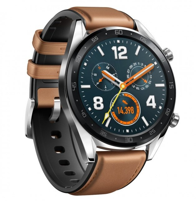 Huawei Watch GT, Black/Brown