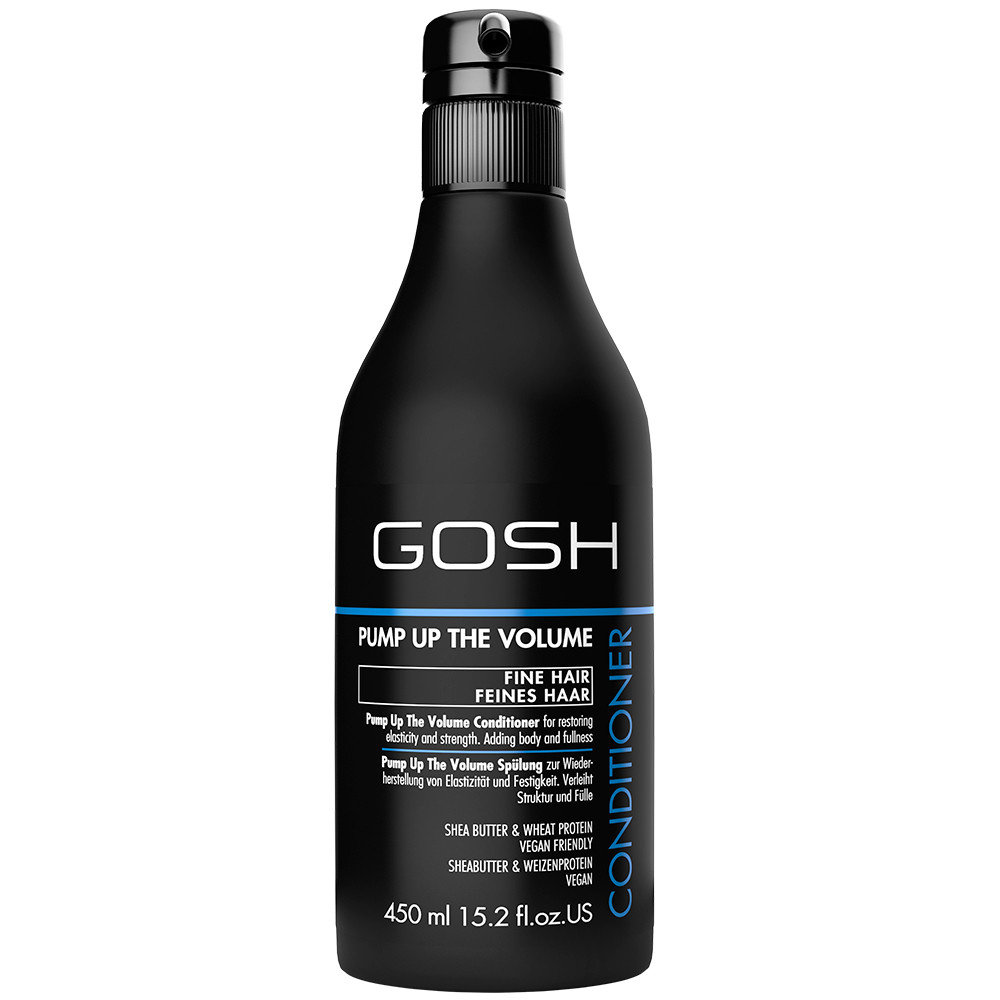 Apimties suteikiantis plaukų kondicionierius Gosh Pump Up The Volume 450 ml