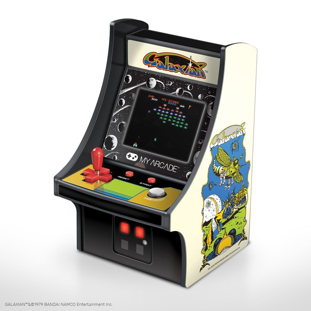dreamGEAR Retro arkada Galaxian Micro Player