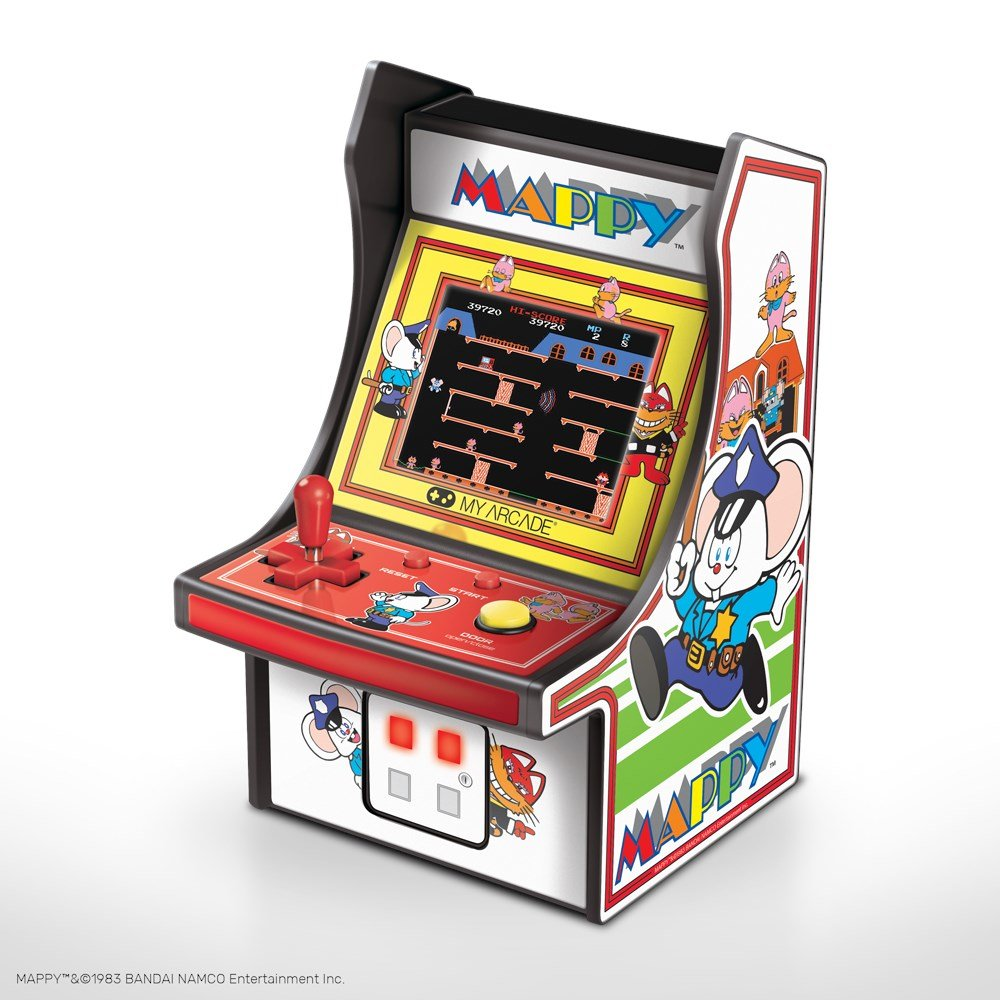 dreamGEAR Retro arkada Mappy Micro Player