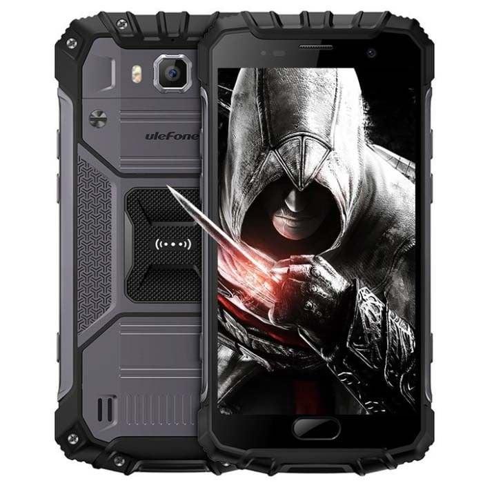 UleFone Armor 3, 64GB, Dual Sim, Juoda
