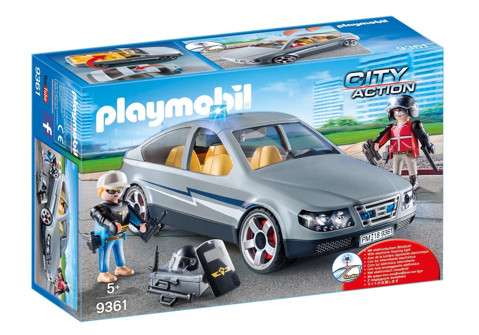9361 PLAYMOBIL® City Action, Gelbėjimo mašina