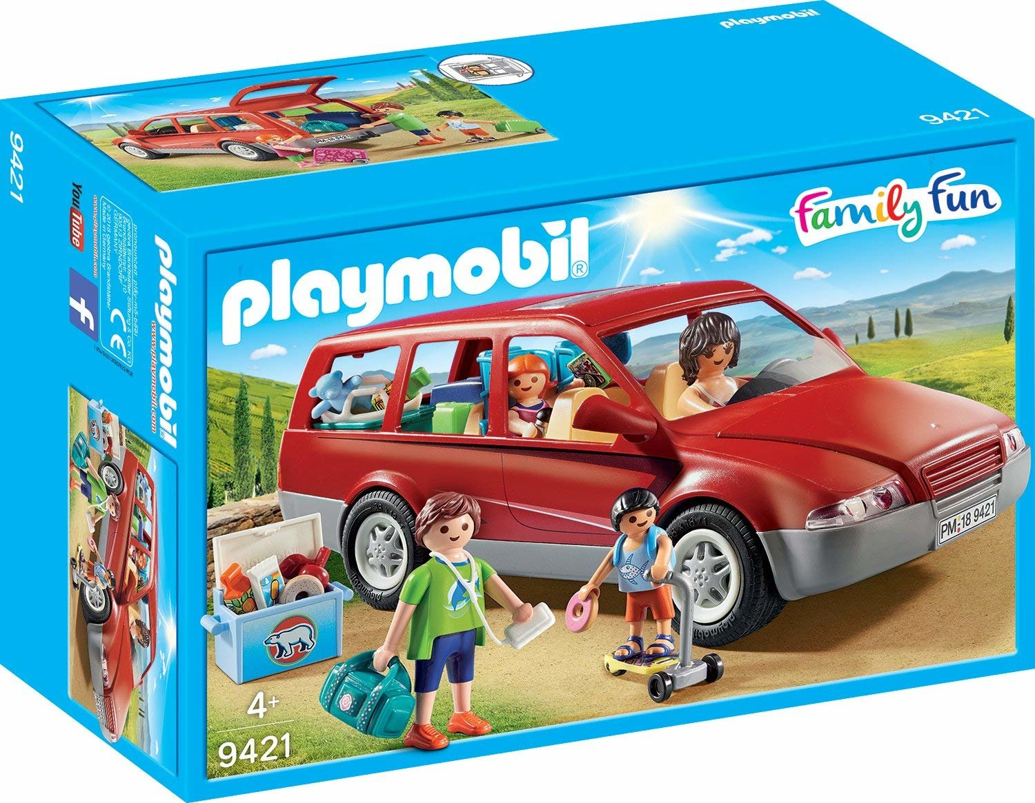 9421 PLAYMOBIL® Family Fun, Šeimos automobilis