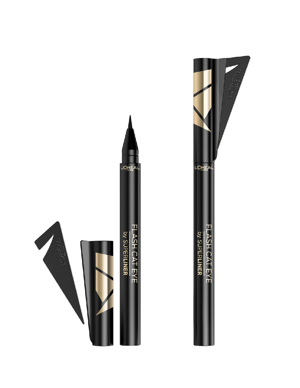 Akių kontūro pieštuka L'oreal Paris Superliner Cat Eye, 01 Black