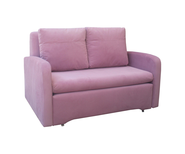 Miegamasis fotelis-sofa Fun, rožinė