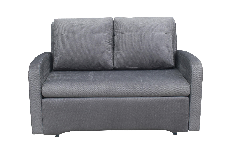 Miegamasis fotelis-sofa Fun, pilka