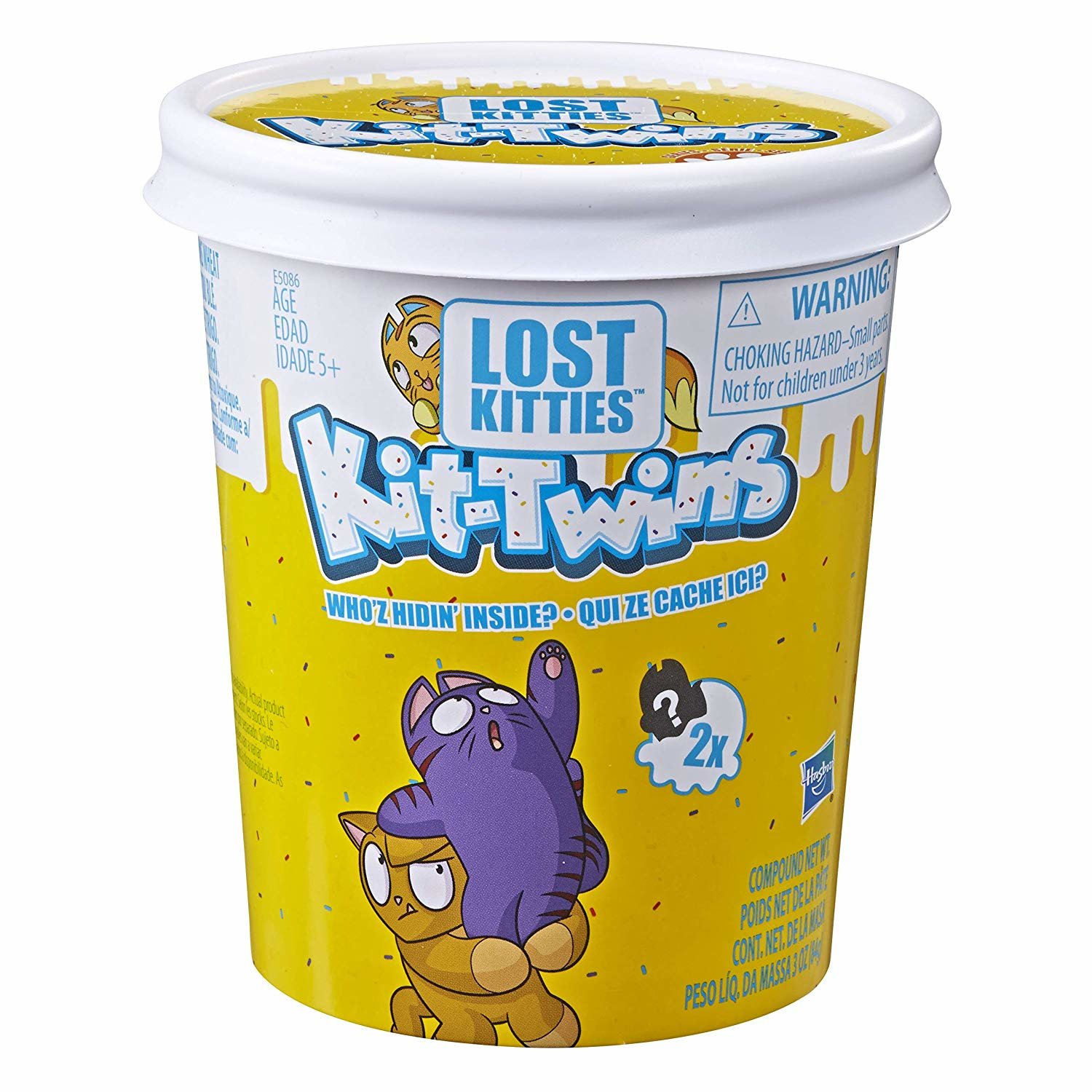 Indelis su staigmena Hasbro Lost Kitties Kit-Twins
