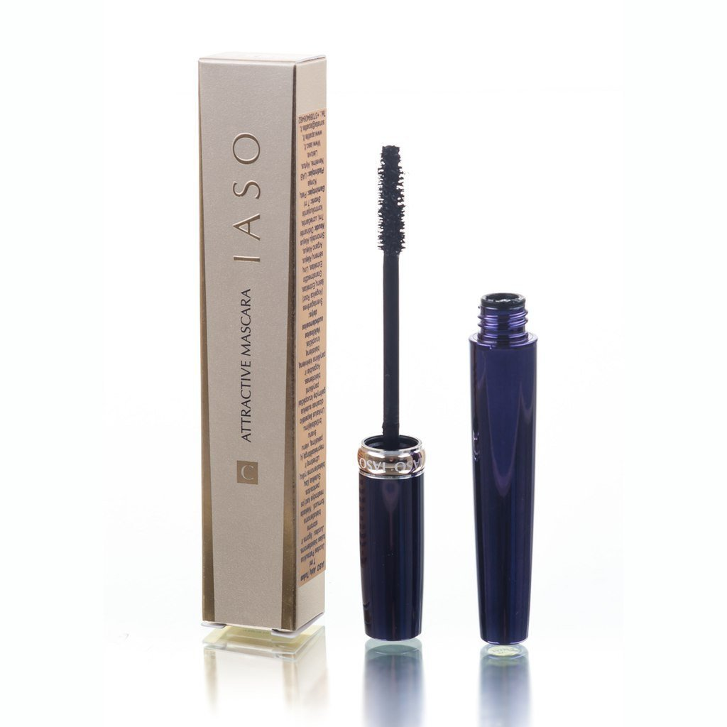 Blakstienų tušas IASO Attractive Mascara 01 Oriental Black 7 ml