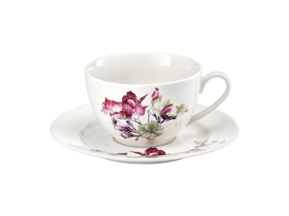 Ambition puodeliai su lėkštutėmis Garden, 12 dalių