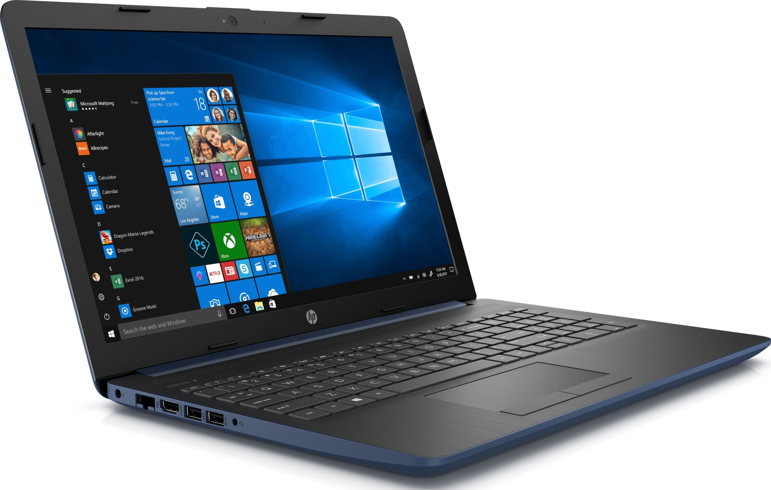 HP 15-da1006nw (6AT44EA) 8 GB RAM/ 256 GB M.2 PCIe/ 1TB HDD/ Win10H