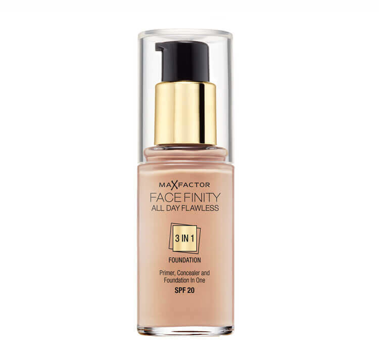 Makiažo pagrindas Max FactorFacefinity All Day Flawless 3in1SPF2030 ml