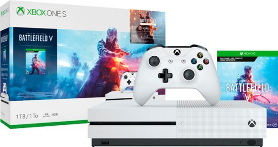 Microsoft Xbox One S 1TB + Battlefield 5 Deluxe