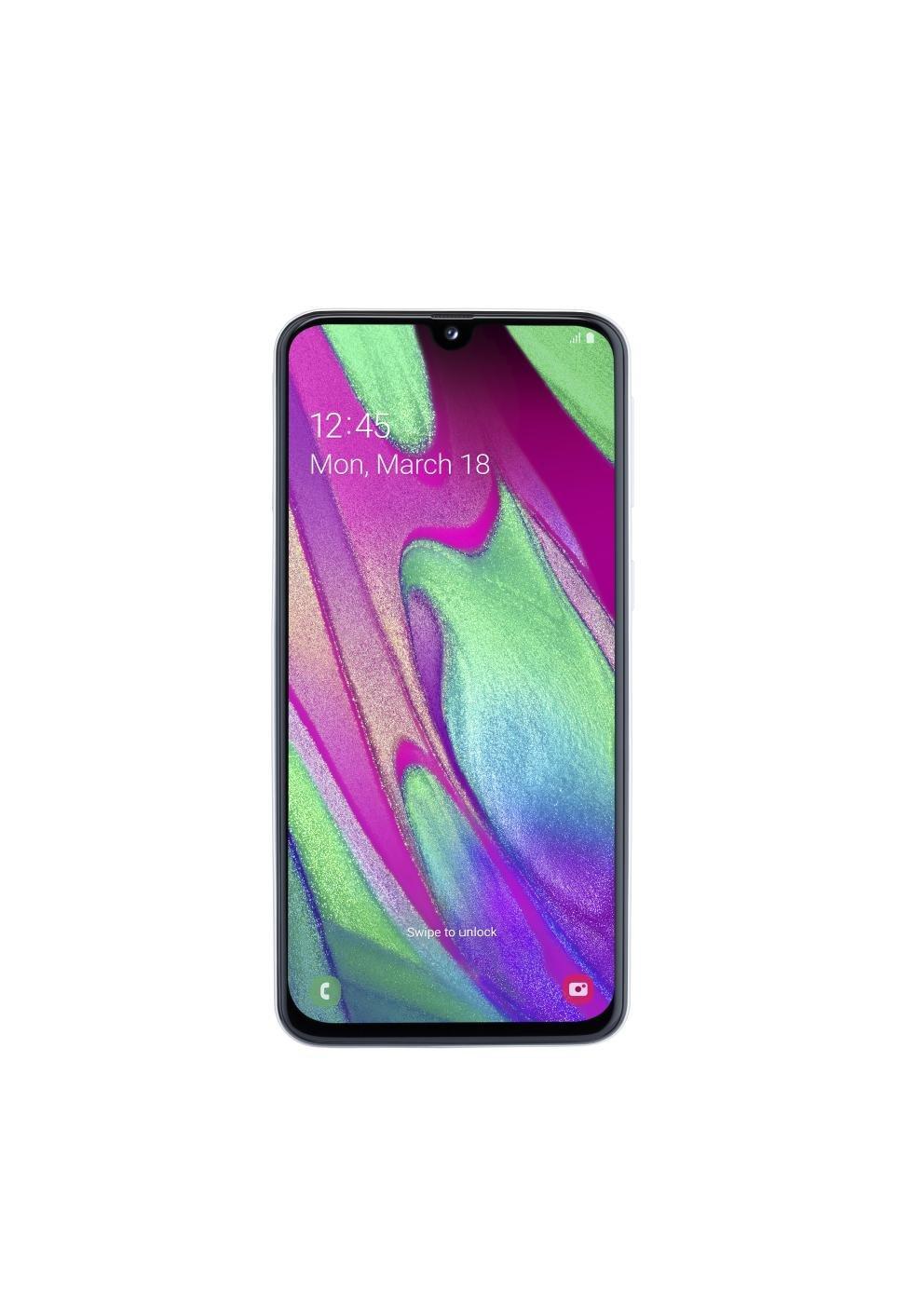 Samsung Galaxy A40, Dual SIM 4/64 GB, Balta