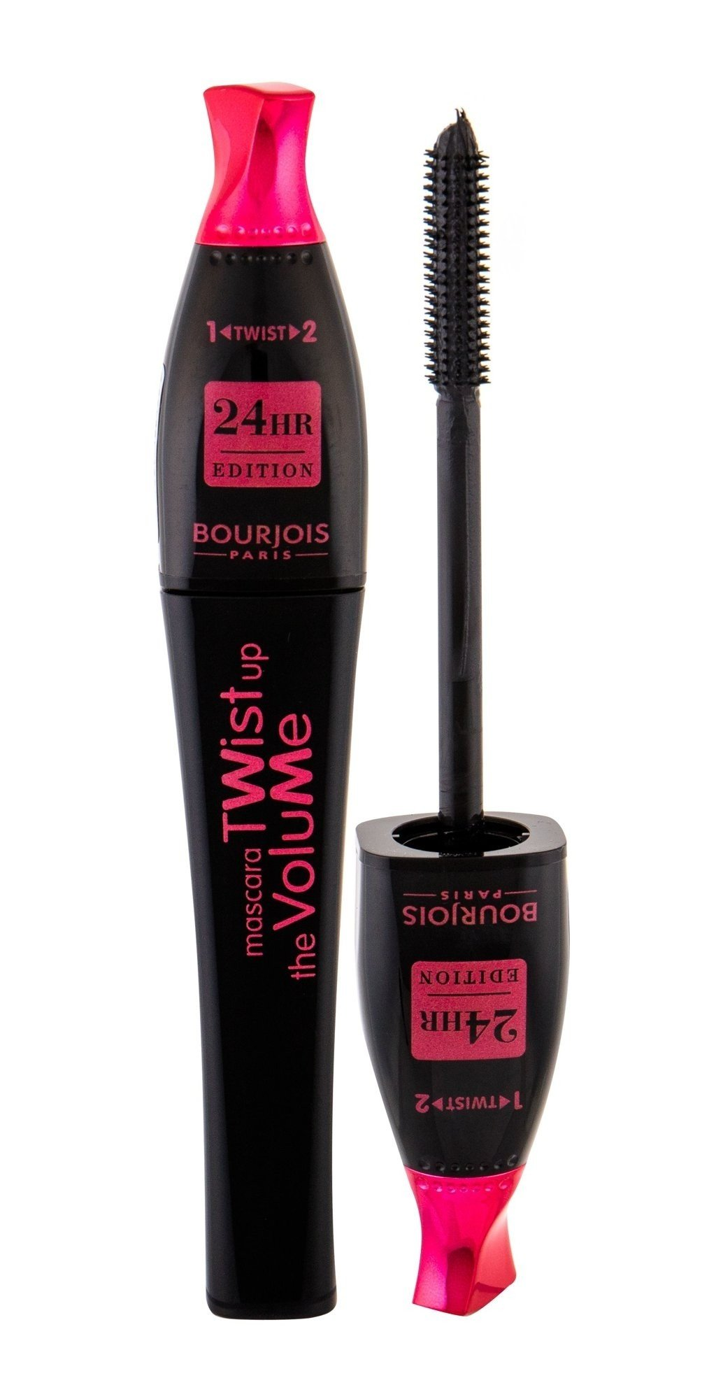 Blakstienų tušas Bourjois Twist Up The Volume 8 ml, Black