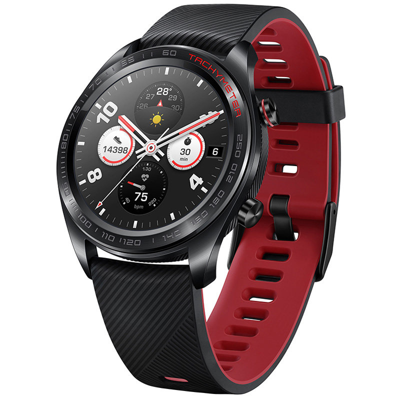 Honor Watch Magic, Black/Red