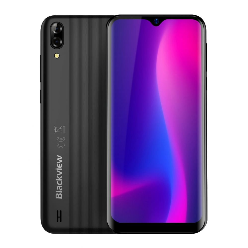 Blackview A60 Pro 16GB, Dual Sim, Juoda
