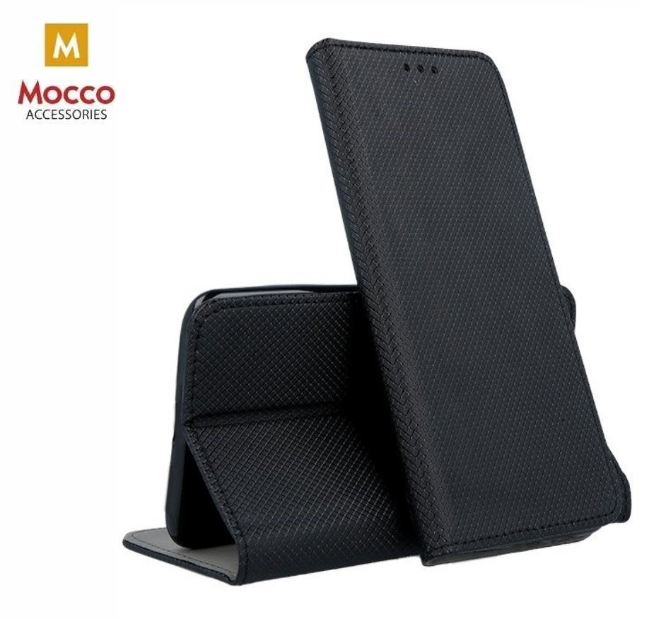 Mocco Smart Magnet Book Case For Xiaomi Redmi Note 7 / Note 7 Pro Black