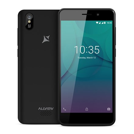 Allview P10 mini, 8 GB, Dual SIM, Black