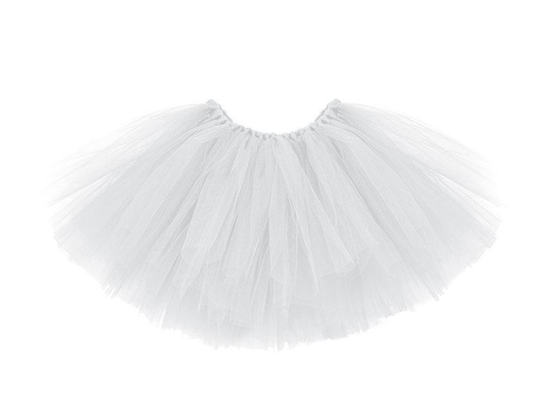 Tutu sijonėlis, baltas, 80x34 cm
