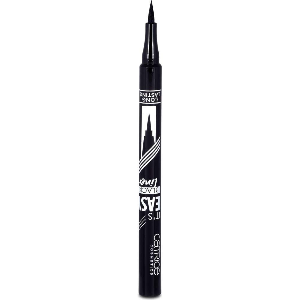 Akių kontūro apvadas Catrice It's Easy Black 1 ml, 010 Blackest Black