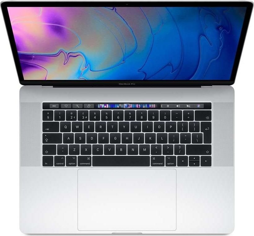 Apple MacBook Pro 13 Touch Bar, 2.4GHz quad-core 8th i5/8GB/512GB SSD/Iris Plus Graphics 655 - Silver-MV9A2ZE/A