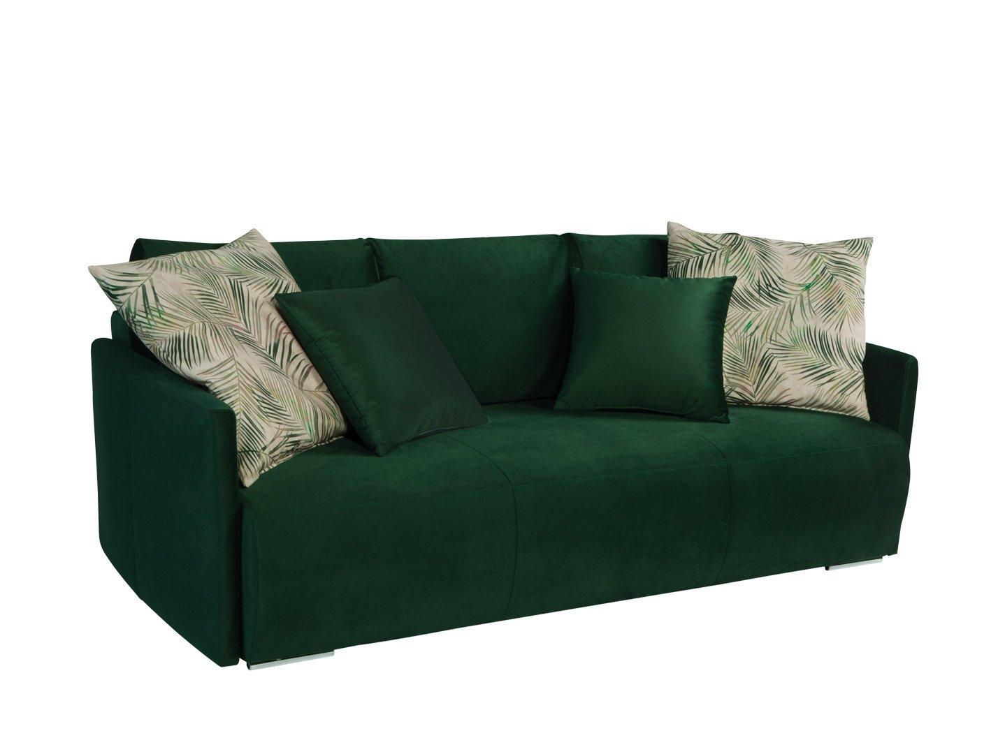 Sofa BRW Clarc II, žalia