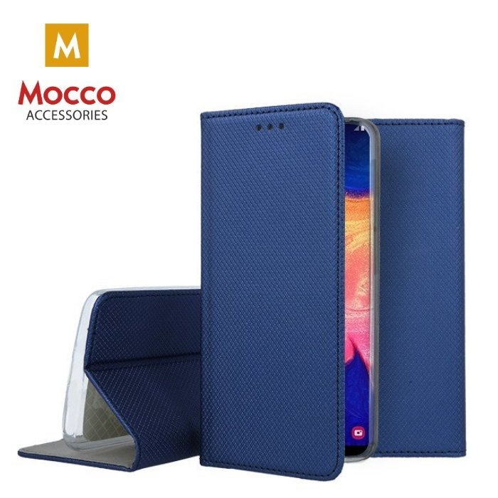Mocco Smart Magnet Book Case For Samsung A105 Galaxy A10 Blue