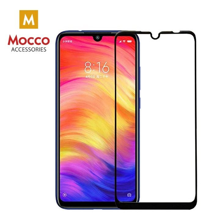 Mocco Full Glue 5D Tempered Glass Full Coveraged with Frame Huawei P30 Pro Black
