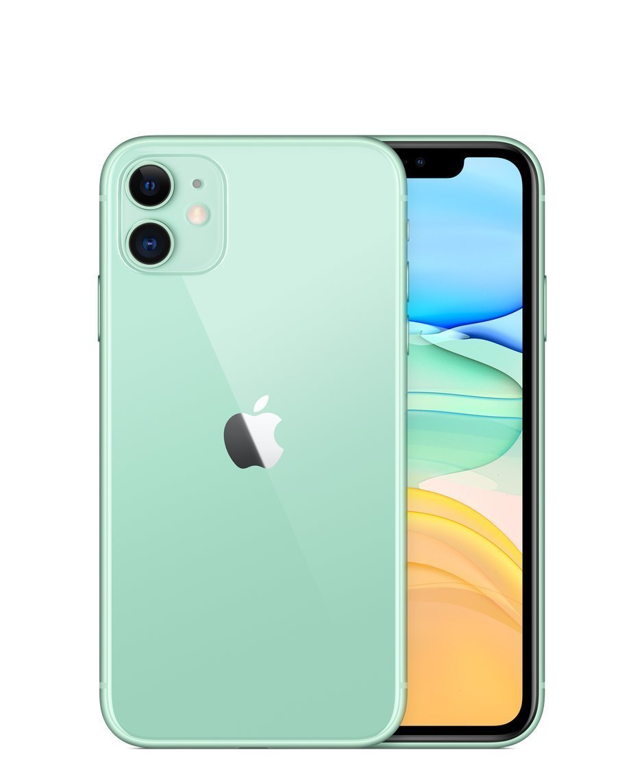 Apple iPhone 11, 256GB, Žalia