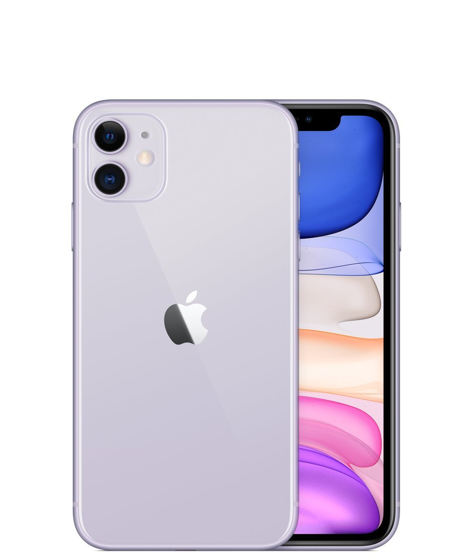 Apple iPhone 11, 128GB, Violetinė