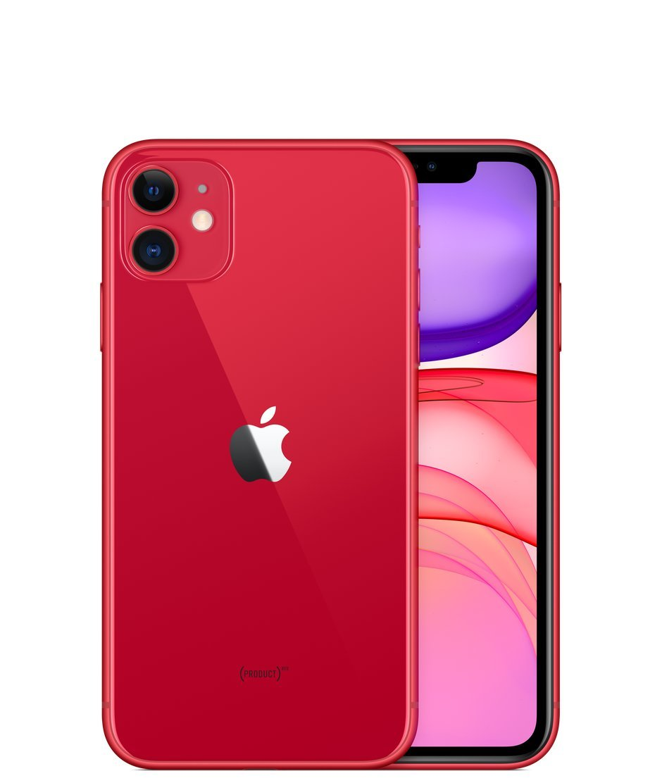 Apple iPhone 11, 64GB, Red