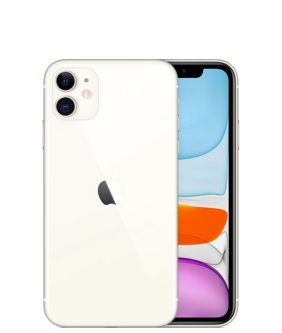 Apple iPhone 11, 128GB, Balta
