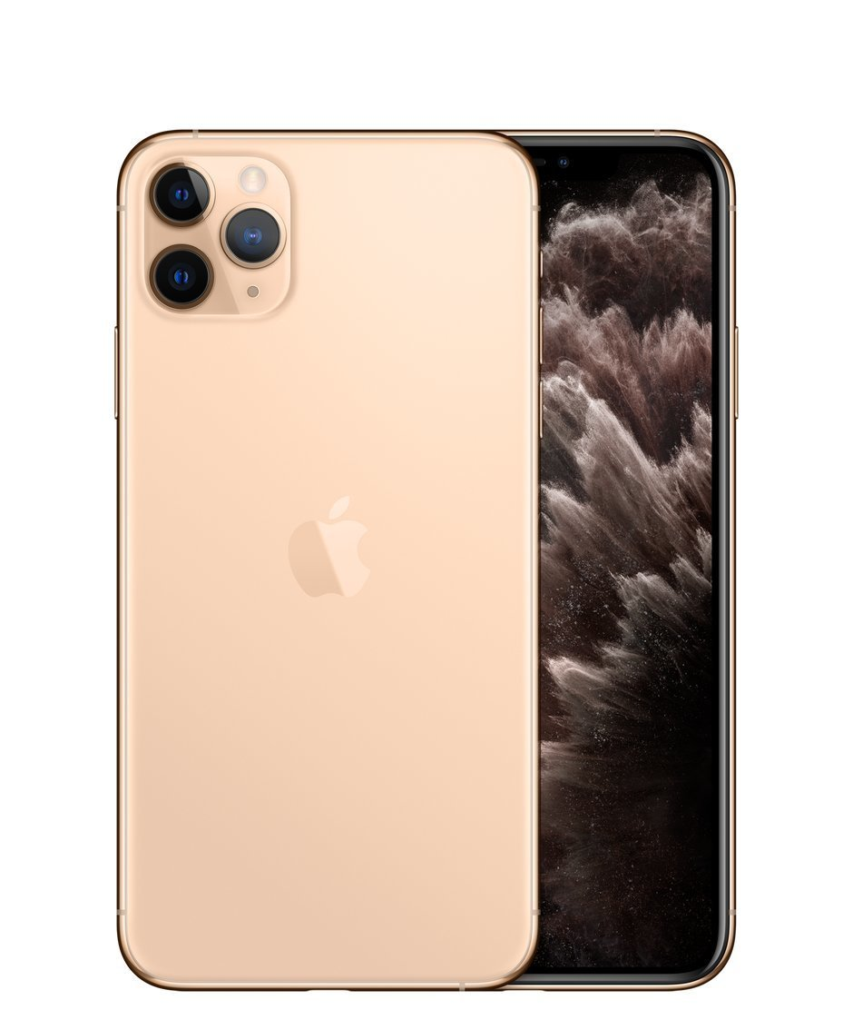 Apple iPhone 11 Pro Max, 64GB, Auksinė