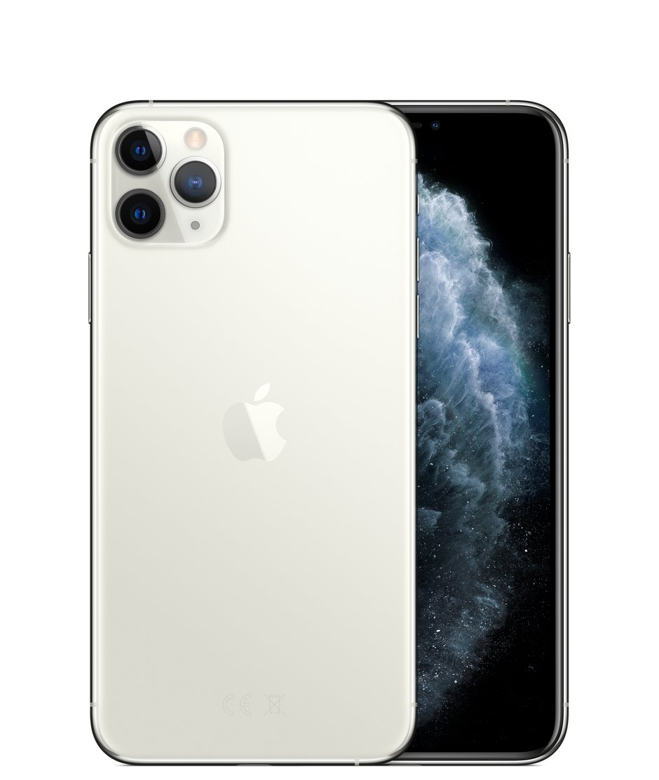 Apple iPhone 11 Pro Max, 64GB, Silver