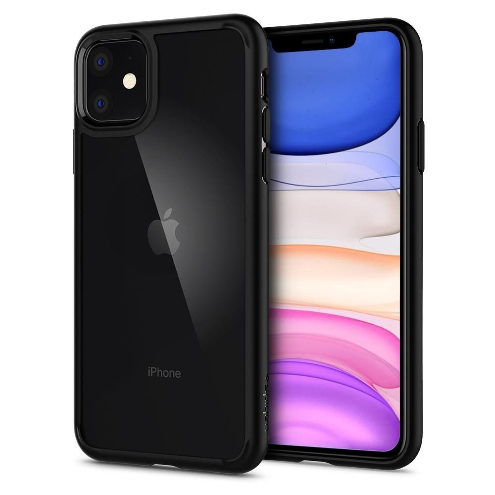 SPIGEN ULTRA HYBRID IPHONE 11 MATTE BLACK