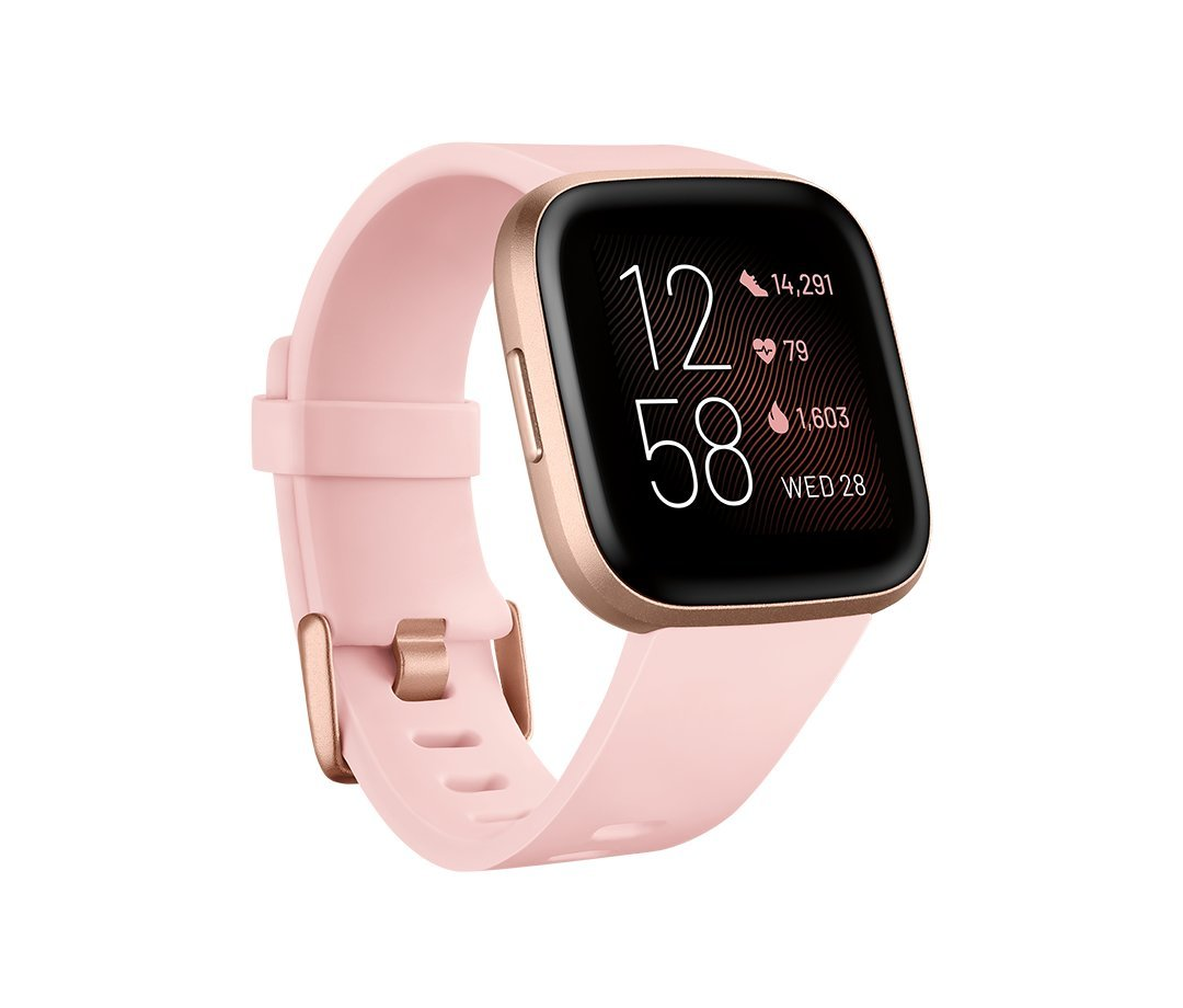 Fitbit Versa 2 (NFC), Petal/Copper Rose
