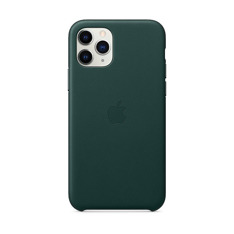 Apple iPhone 11 Pro Leather Cover Forest Green