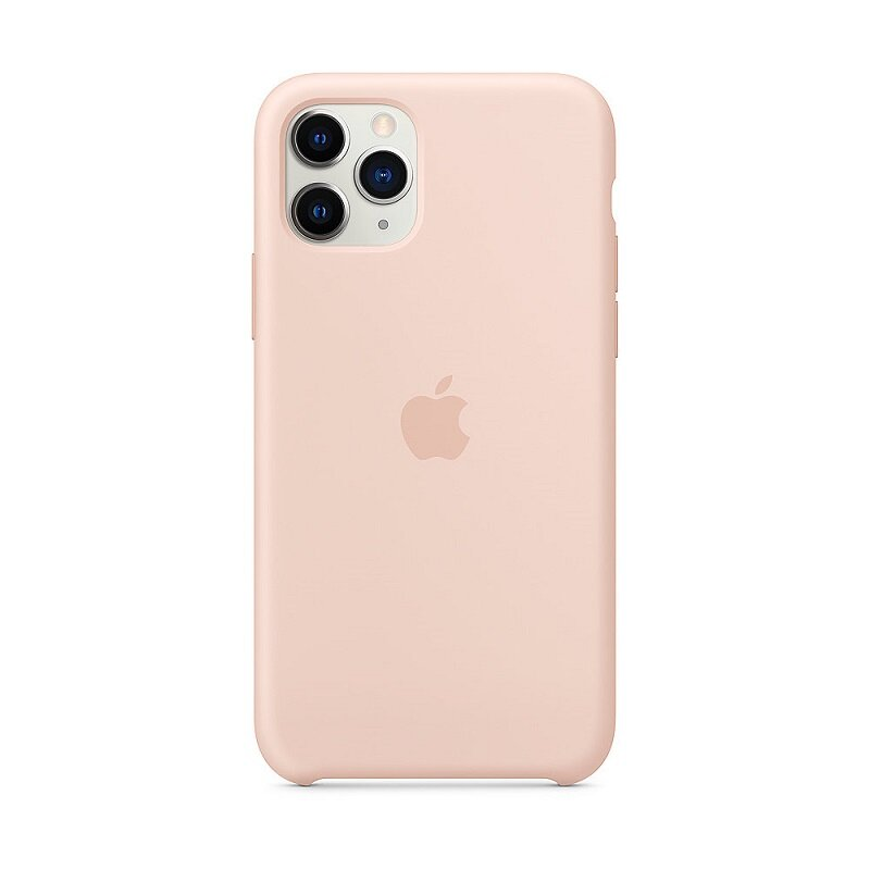 Apple iPhone 11 Pro Silicone Cover Pink Sand