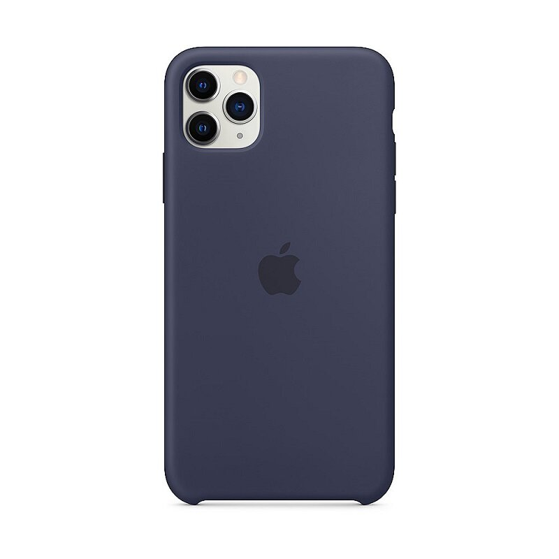 Apple iPhone 11 Pro Max Silicone Cover Midnight Blue