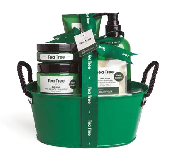 Vonios rinkinys IDC Institute Tea Tree Basket