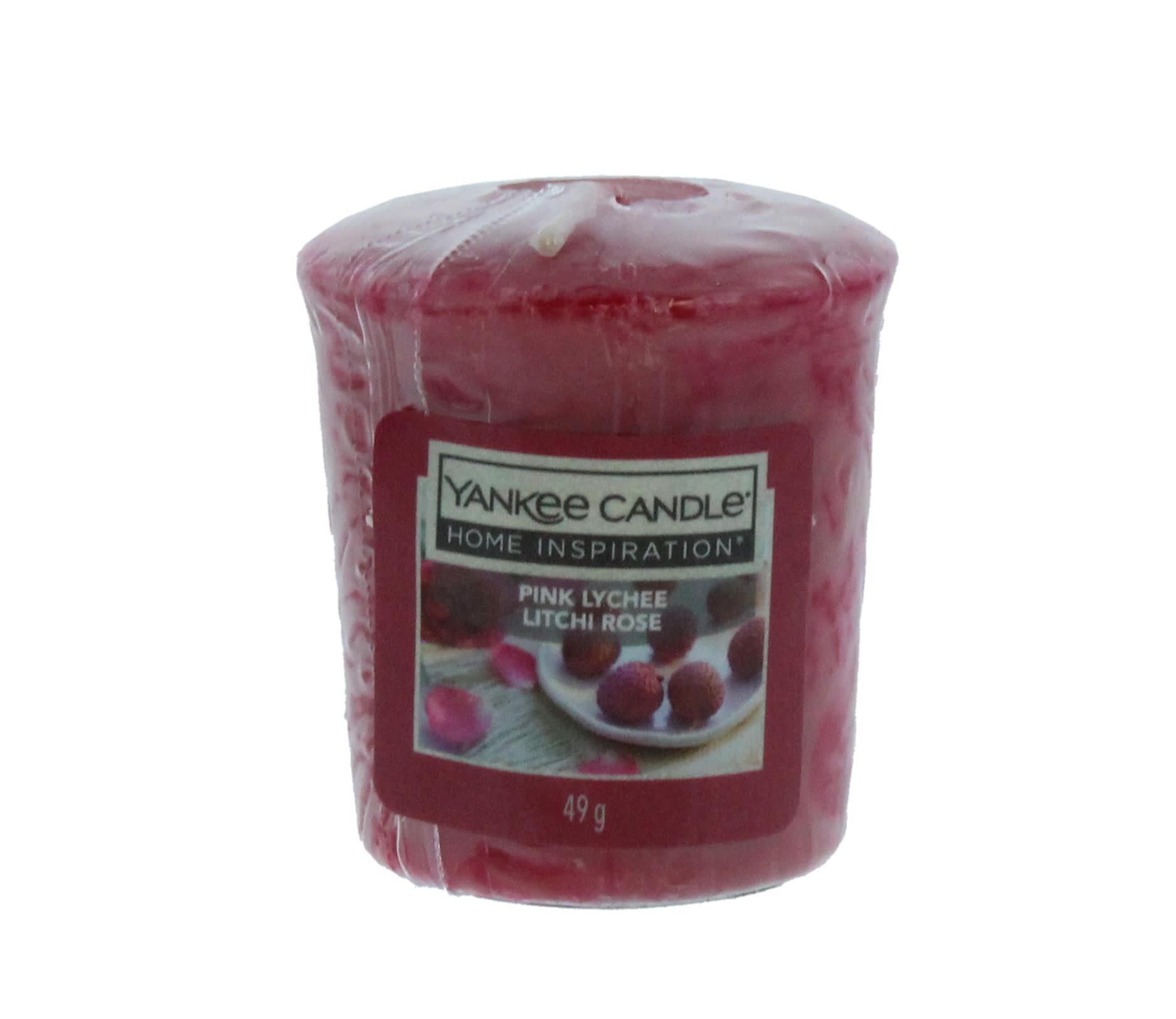 Yankee Candle aromatinė žvakė Pink Lychee, 49 g
