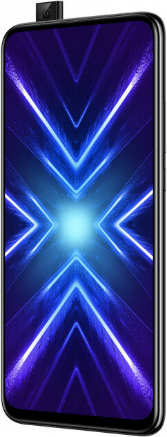 HONOR 9X, 128GB, Dual SIM, Juoda