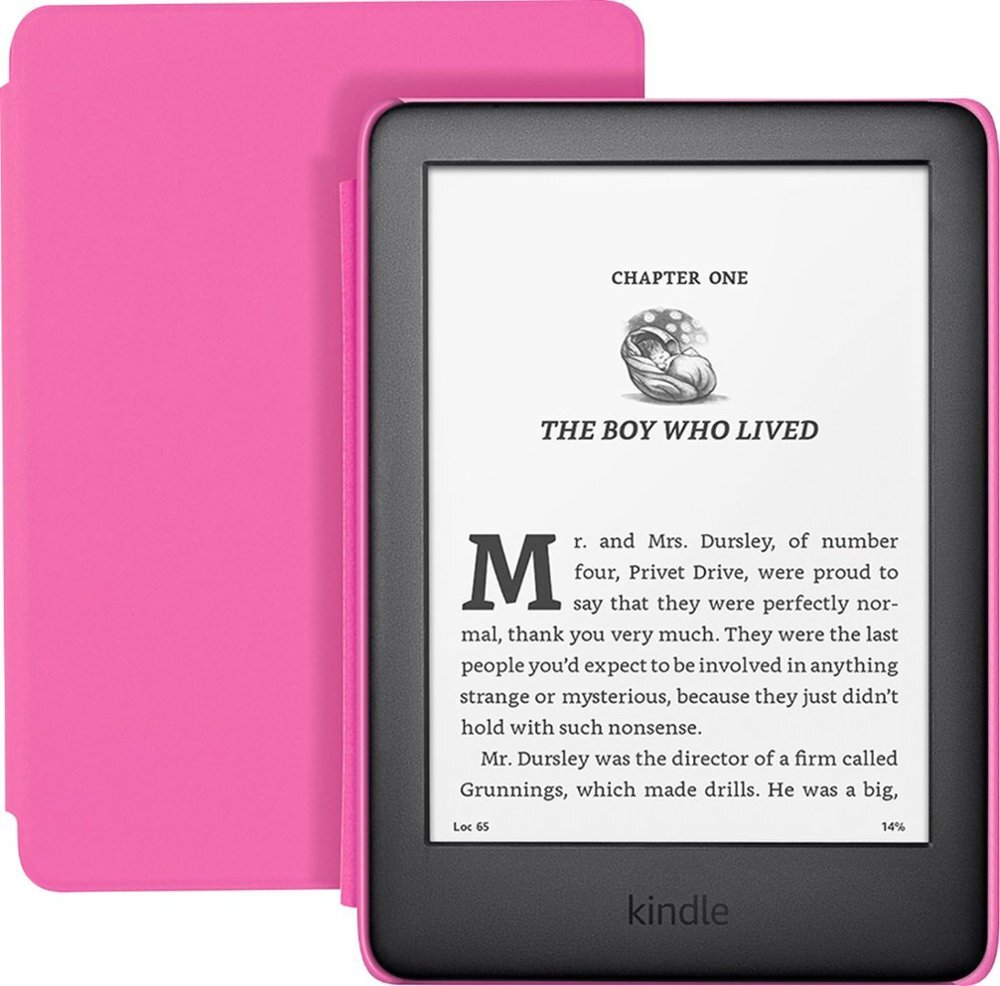Amazon Kindle Kids Edition 2019 8GB WiFi, Rausva