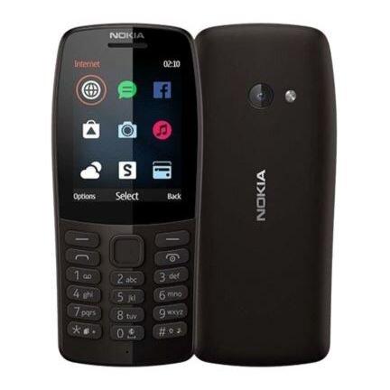 Nokia 110 (2019), 4 MB, Dual SIM, Black