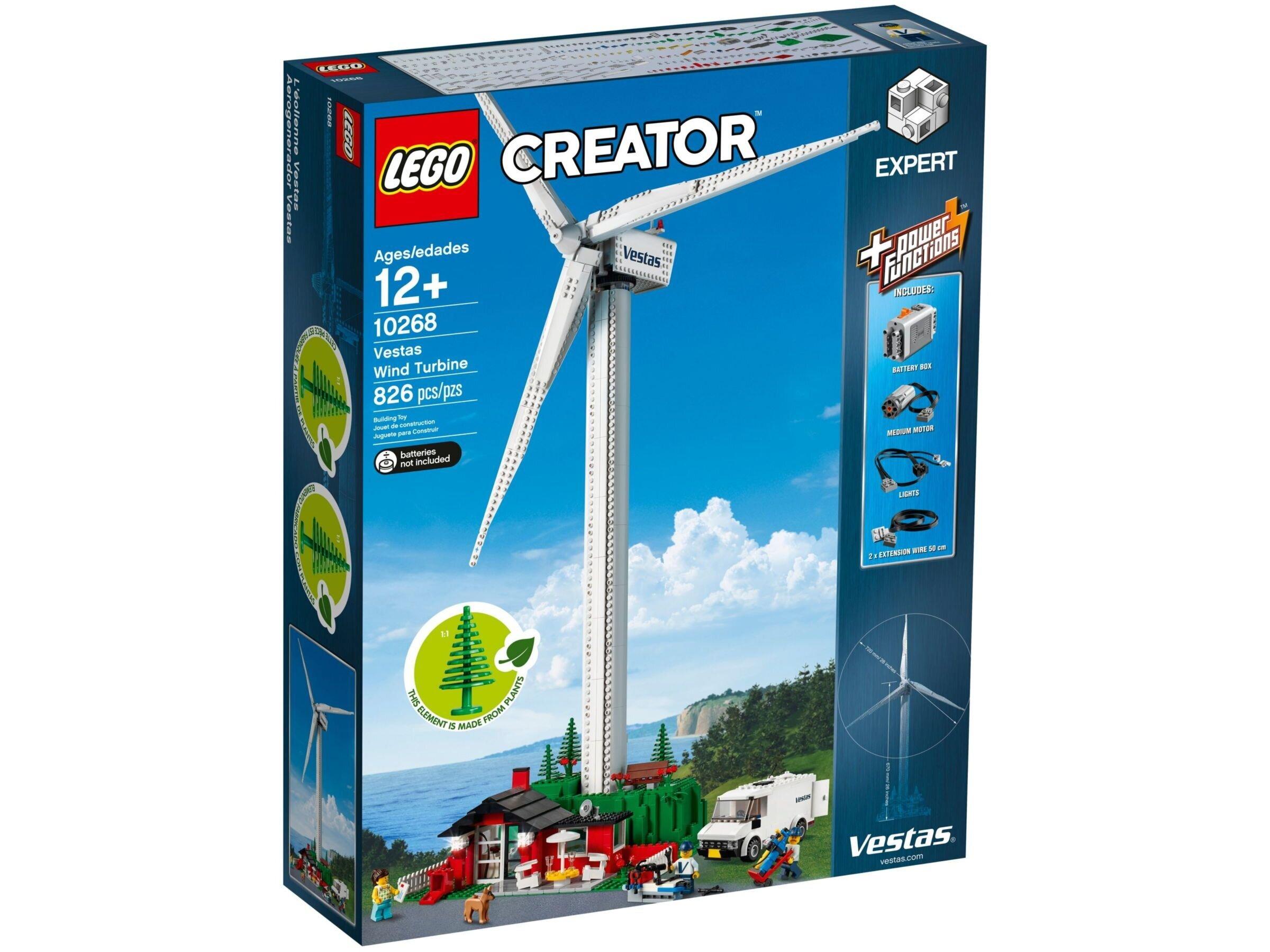 10268 LEGO® Creator Expert Vestas vėjo jėgainė